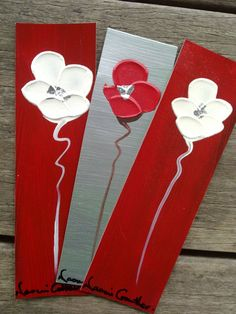 Naomi Crowther original painted bookmarks  by NaomiCrowtherGallery, $10.00