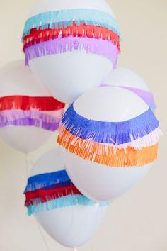 DIY Piñata Balloons