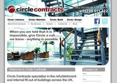 Website Design for Circle Interiors