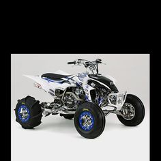 Yfz 450 I like the theme they have going on this quad.