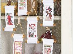 Christmas decorations | Cross Stitching