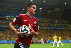Bintang Kolombia di Piala Dunia James Rodriguez akan menjadi pengganti yang ideal untuk Luis Suarez di Anfield, menurut duta tim Sony dan mantan striker Liverpool Emile Heskey.  www.rwin888.com