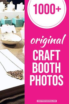 Hundreds of craft display booth photos. This page links to over 1000 original photos of handmade product displays at art fairs and markets. Lots of inspiration and tips for designing your own portable 10 x 10 display space. #craftfairdisplay #craftbooth #craftfairs #craftprofessional Vendor Displays, Craft Booth Displays, Store Displays, Display Ideas, Selling Crafts Online, Craft Online, Craft Business, Business Tips, Craft Show Booths