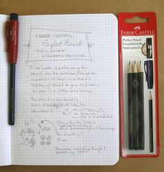 Faber-Castell Perfect Pencil by sugaroni, via Flickr. Built in eraser and sharpener. How cool is that?