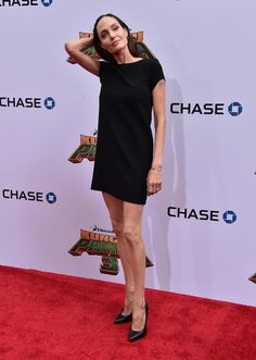 Angelina Jolie Photos Photos - Actress Angelina Jolie attends the premiere of…