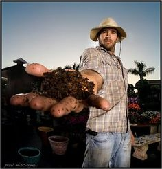 """How to start farming Q and A with Jay McCobb of Farmer Jay Pure Organics> """"Right now, I'm reading Sepp Holzer's Permaculture. Great book -- I highly recommend it. Also, check out the Rodale Institute website."""""""