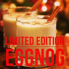 Christmas has come early. #Eggnog shakes are here! EGGNOG SHAKES ARE HERE! Favourite holiday treat without the guilt!