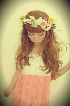 Chinatsu Wakatsuki Gyaru Fashion, Ulzzang Fashion, Asian Fashion, Summer Clothes, Summer Outfits, Kawaii Clothes, Art Music, Work Fashion, Flower Girl Dresses