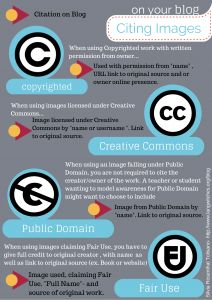 How to Cite Images on Your Blog infographic.