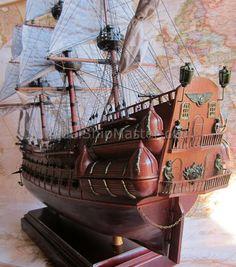 the flying dutchman model ship details