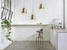 Coco Flip - Brass Hanging Lights