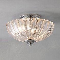 John Lewis Senna Ceiling Light - £85 - ideal for low ceilings