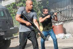 Fast n Furious Vin Diesel and his big guns