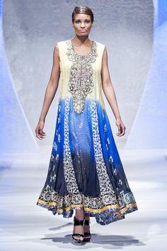 Rizwan Ahmed at Pakistan Fashion Week London 2012