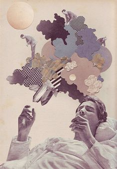 Illustration/collage by Eleanor Wood from - http://www.booooooom.com/2010/04/23/illustrator-eleanor-wood/