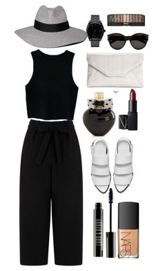 """Lovely black"" by maharamyadea on Polyvore"