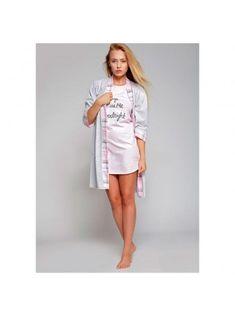 Халат женский хлопковый Kiss Me, Sensis Dresses, Fashion, Gowns, Moda, Fashion Styles, Dress, Vestidos, Fashion Illustrations, Gown
