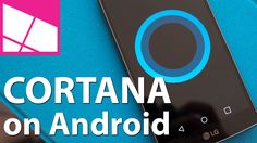 Cortana Beta on Android Hands-on Software Apps, Samsung Galaxy S6, Windows 10, Microsoft, Android, Geek, Hands, Geeks