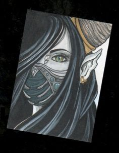 Ryder Original Aceo art by Jhoeymonster on Etsy, $20.00