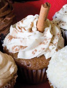 oh my! Organic vegan Chai Cupcake