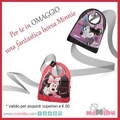 www.mamibu.com Get a FREE #Minnie #Bag when you spend euro 80 or more! #Mamibu