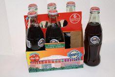 Coca Cola 1994 XXVIII Super Bowl 6 pack unopened $15 **one empty bottle but has original cap Pepsi, Coke, Coca Cola, Bottles For Sale, Empty Bottles, Jimmy Johnson, 6 Packs, Nascar, Super Bowl