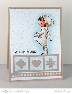 Warmest Wishes, Blueprints 20 Die-namics - Michele Boyer #mftstamps
