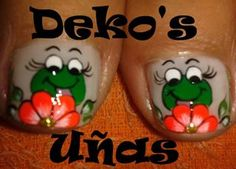 SAPITOS Mani Pedi, Pedicure, Nails For Kids, Ugly To Pretty, Toe Nail Designs, 3d Nail Art, Toe Nails, Beauty Nails, Twinkle Twinkle