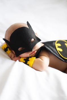 Denver Newborn Photographer | Newborn Photographers | Newborn baby photo ideas and inspiration | Batman