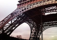 Startonight Mural Wall Art Photo Decor Eiffel Tour De Paris Large 8-feet 4-inch By 12-feet Wall Mural for Living Room or Bedroom
