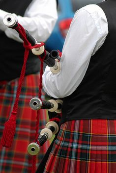 Pipers at the Highland Games ~ Perth, Scotland.