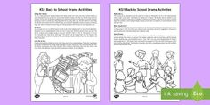 Back to School Drama Teaching Ideas Drama Games For Kids, Drama Activities, School Days, Back To School, Traditional Tales, Ice Breaker Games, Acceptance Speech, Helping Children, Encouragement