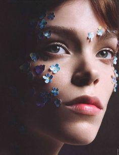 Antidote Magazine - Meghan Collison - Cuneyt Akeroglu - 2014 www.lisaeldridge.com #LisaEldridge #makeup #beauty