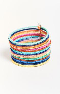 Penelope Beaded Cuff Bracelet ~ Multi    Show Me Your Mumu