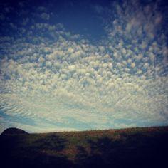 Clouds on my morning walk #NewZealand