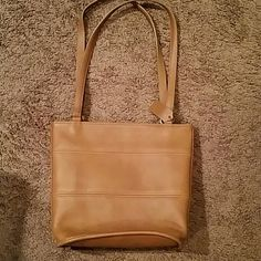 Coach vintage leather bag Beautiful vintage leather bag. Price is firm!!!. Make an and offer thru the offer button. All items are from smoke and animal free home! Plz don't leave me a negative comment on my list. if you don't like the price you don't have to buy it! Coach Bags Shoulder Bags