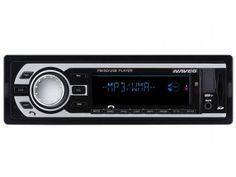 Som Automotivo Naveg NVS 3018BT Bluetooth - Entrada USB Auxiliar e Cartão SD