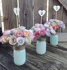 Rustic Wedding Centerpieces Small to lovely centerpiece examples for more than a fabulous rustic wedding centerpieces mason jars center pieces Wedding idea number 7110944369 pinned on 20190424 Paper Flower Centerpieces, Rustic Wedding Centerpieces, Wedding Table Numbers, Rustic Weddings, Bat Mitzvah Centerpieces, Wedding Rustic, Centrepieces, Centerpiece Ideas, Quinceanera Centerpieces