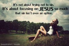Fix Your Eyes On Jesus!!