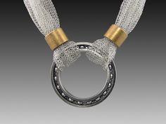 "Industrial Debris necklace 2941 ""Over bearing necklace!"""