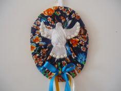 MissFelicidade Lembrancinhas-Atelier da Tati: Lindo enfeite com Espírito Santo