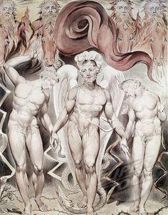 Expulsion From Eden William Blake