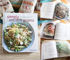 Simply Ancient Grains cookbook by Maria Speck
