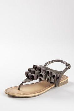 ANNA Sunny Ruffle Sandal love them