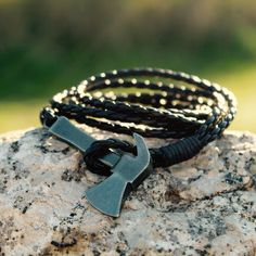 Axe Bracelet Available for 18€ on our Online Shop