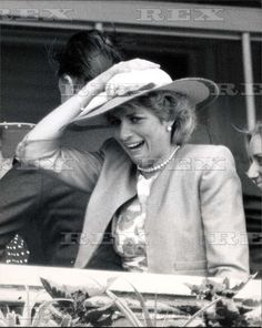 3 June 1987 ~ A Day at the Epsom Downs Racecourse with Princess Diana & the Duchess of York.