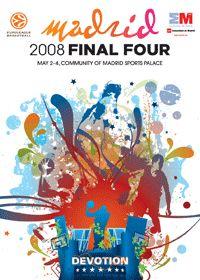 Cartel Final Four Euroliga Basket 2008