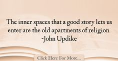 John Updike Quotes About Religion - 58933