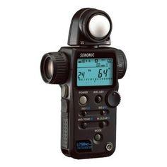 Amazon.com: Sekonic L-758Cine Light Meter (Black): Camera & Photo
