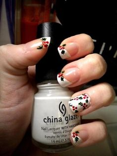 "Love this idea!  From the Facebook page ""I Love Everything About Nails"""